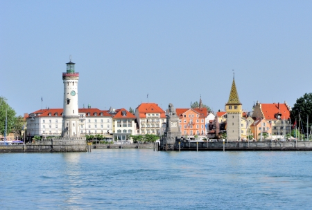 Lindau Harbour, Lake Constance