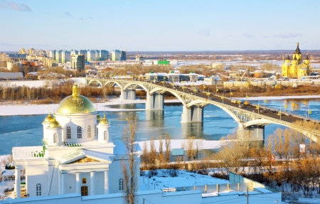 November view Annunciation Monastery and Nevsky Cathedral  photo