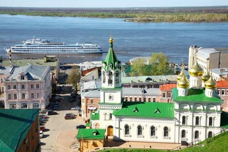 nizhny novgorod: Spring in Nizhny Novgorod Russia Stock Photo