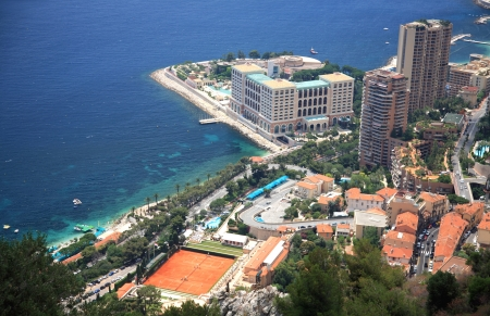 View of Monaco, Monte Carlo photo