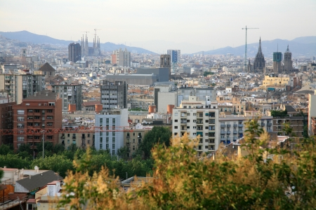 View of Barcelona, Spain photo