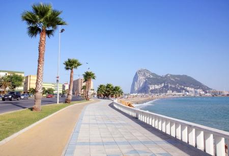 Playa de Poniente, La Linea de la Concepcion, Costa del Sol, Spain Reklamní fotografie
