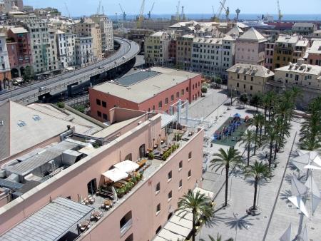 View of Genoa, Italy photo