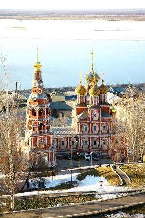nizhny novgorod: Stroganov Church Nizhny Novgorod Russia