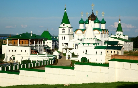 ascension: Summer Pechersky Ascension Monastery Nizhny Novgorod Russia