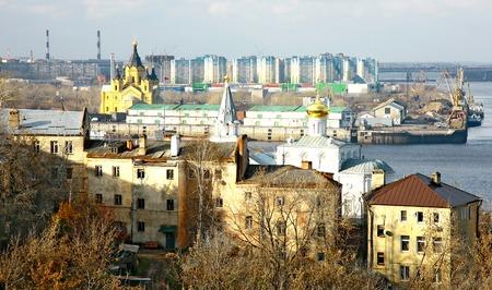 novgorod: Port Strelka Nizhny Novgorod Russia