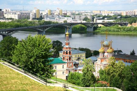 novgorod: Summer Nizhny Novgorod Russia