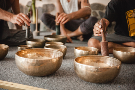 singing bowls: Ukraine, Odessa, Koblevo - august 26-29 - Sound meditation with Tibetan singing bowls at Avatar yoga festival on august 26-29, 2016