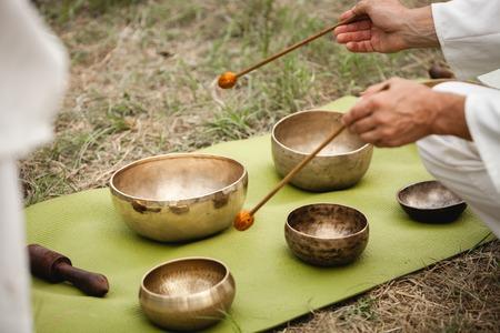 Ukraine, Odessa, Koblevo - august 26-29 - Sound meditation with Tibetan singing bowls at Avatar yoga festival on august 26-29, 2016
