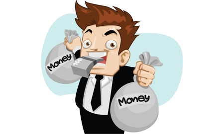 business work make money Stock Vector - 13942295