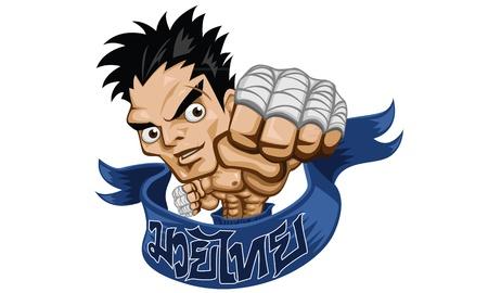 kickboxing: muay thai fight boxing