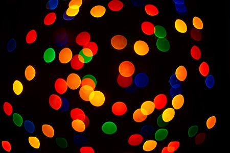 Multicolour bokeh,  abstract  bright background