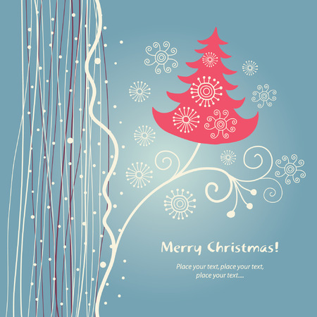 christmas card Stock Vector - 6015847