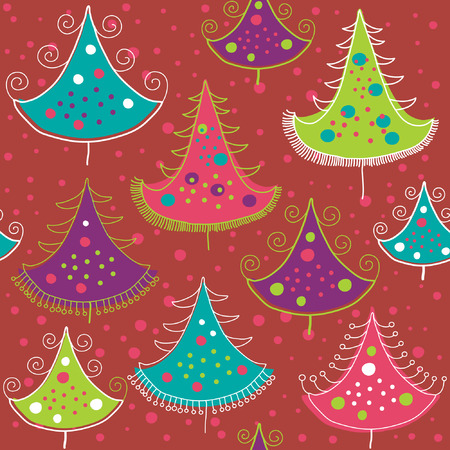 seamless christmas pattern Stock Vector - 6015853