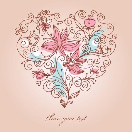 Valentine background Stock Vector - 6257097