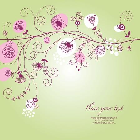 floral illustration Illustration