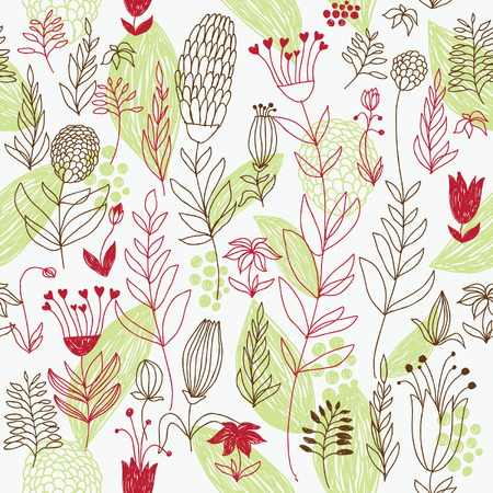 seamless floral pattern Stock Vector - 6480779