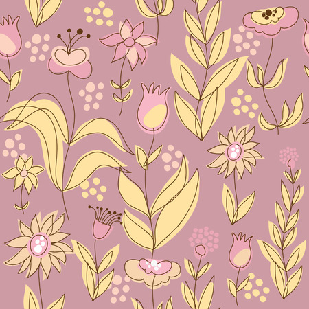 seamless floral pattern Stock Vector - 6480777