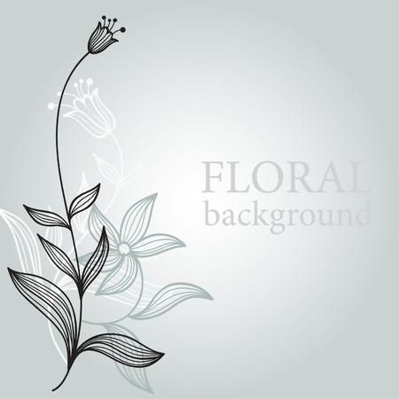 floral illustration Stock Vector - 6550116