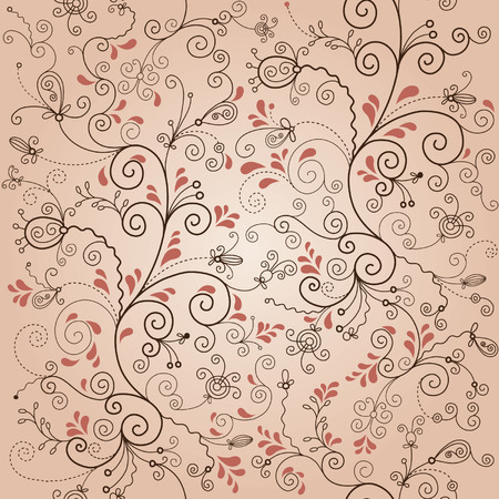 seamless floral pattern Stock Vector - 6690396