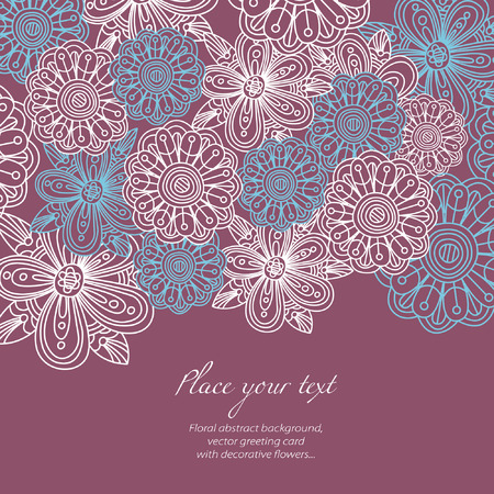 floral  background Stock Vector - 6771901