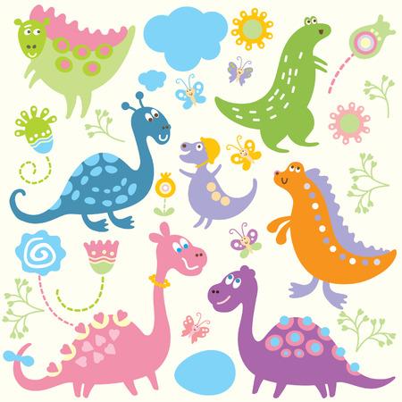 cartoon animals, children's pattern Stock Vector - 6771911