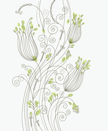 floral background  Stock Vector - 6927987