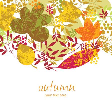 arbre automne: automne  Illustration