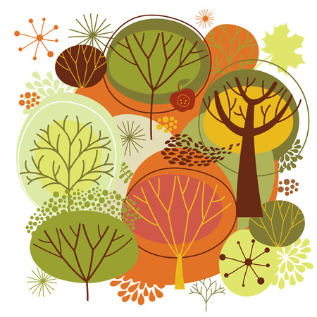 autumn background  Stock Vector - 17035970