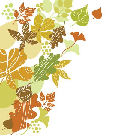 autumn illustration Stock Vector - 7707093