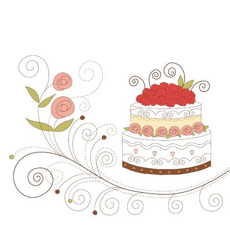 wedding decoration: Greeting card