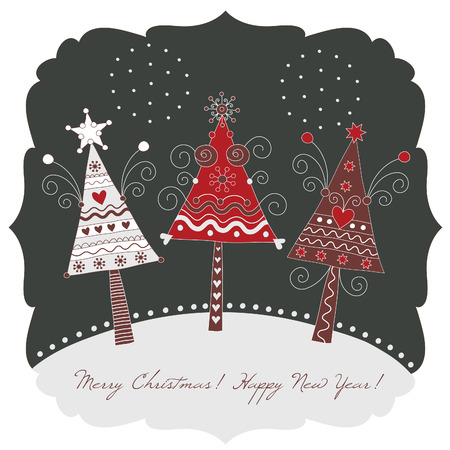 christmas tree Stock Vector - 8009212