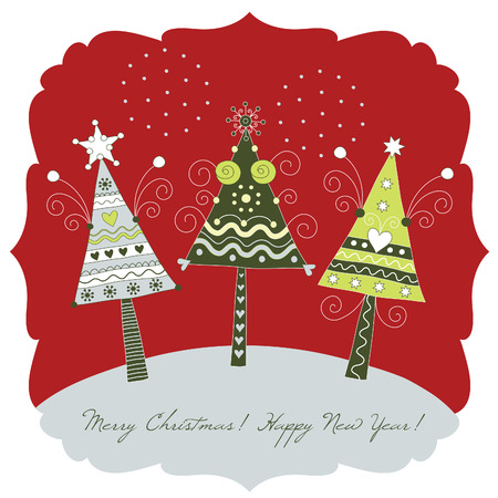 christmas tree Stock Vector - 8009210