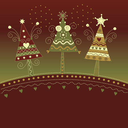 Christmas illustration Stock Vector - 8094442