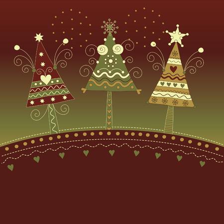 Christmas illustration Stock Vector - 8094442