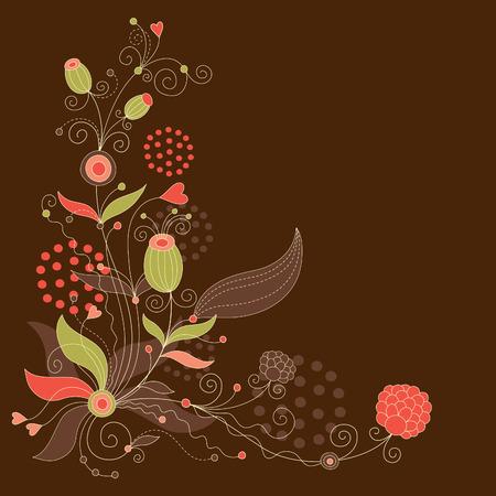 cretive: Floral illustration Illustration
