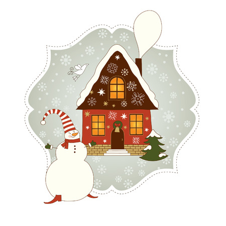 christmas card Stock Vector - 8325982