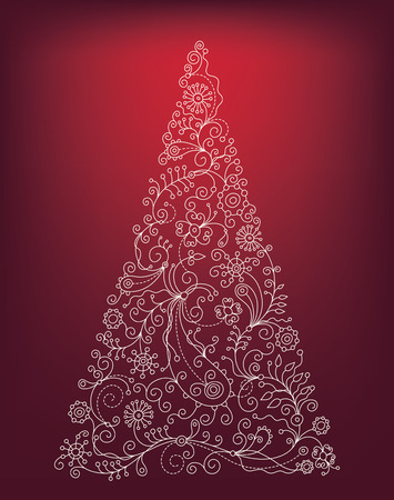 christmas tree Stock Vector - 8325996