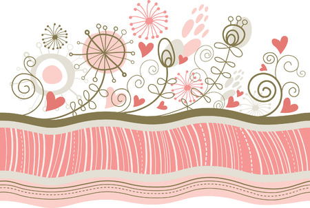 Greeting card, valentine card Stock Vector - 8772007