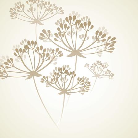 stylize: Floral achtergrond  Stock Illustratie