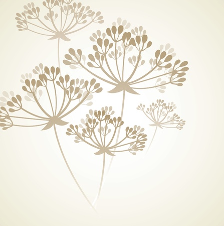 stylize: floral background  Illustration