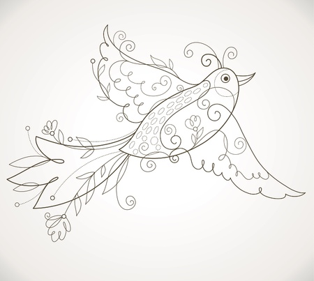 Vector Bird Vector