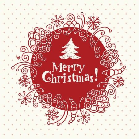 Christmas card Stock Vector - 10570595