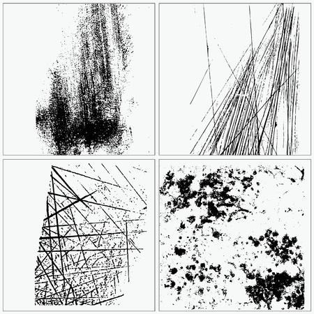 Sammlung von Grunge Texturen