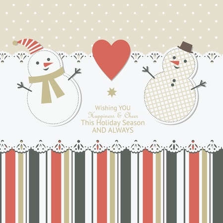 Christmas card Stock Vector - 11308576