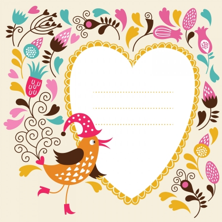 whimsical: Greeting card