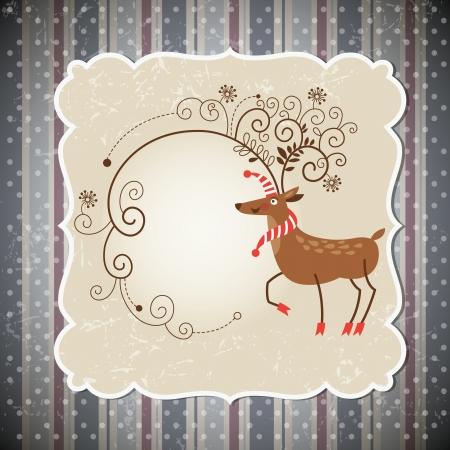 Christmas deer Stock Vector - 15375295