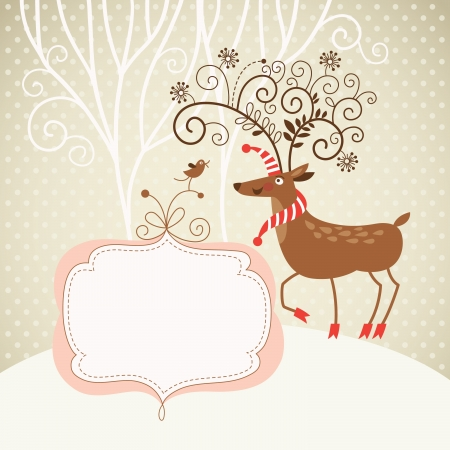 Christmas deer Stock Vector - 15375294
