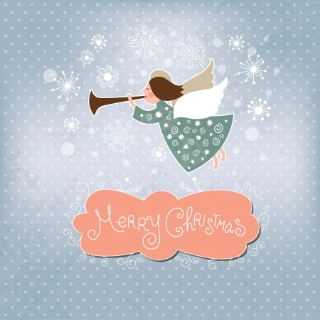 Christmas angel Stock Vector - 15929255