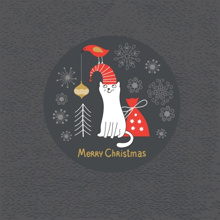 Christmas card Stock Vector - 15929253
